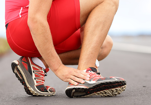 Ankle sprains frequently occur among runners. It is one of the most common sports-related injuries.